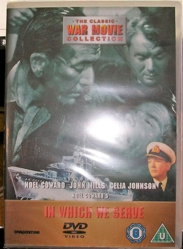 IN WHICH WE SERVE 1942 (DVD 2006) USED